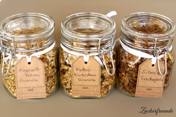 knuspriges granola selber machen zum fr hst ck oder als dessert genie en lieberbacken. Black Bedroom Furniture Sets. Home Design Ideas