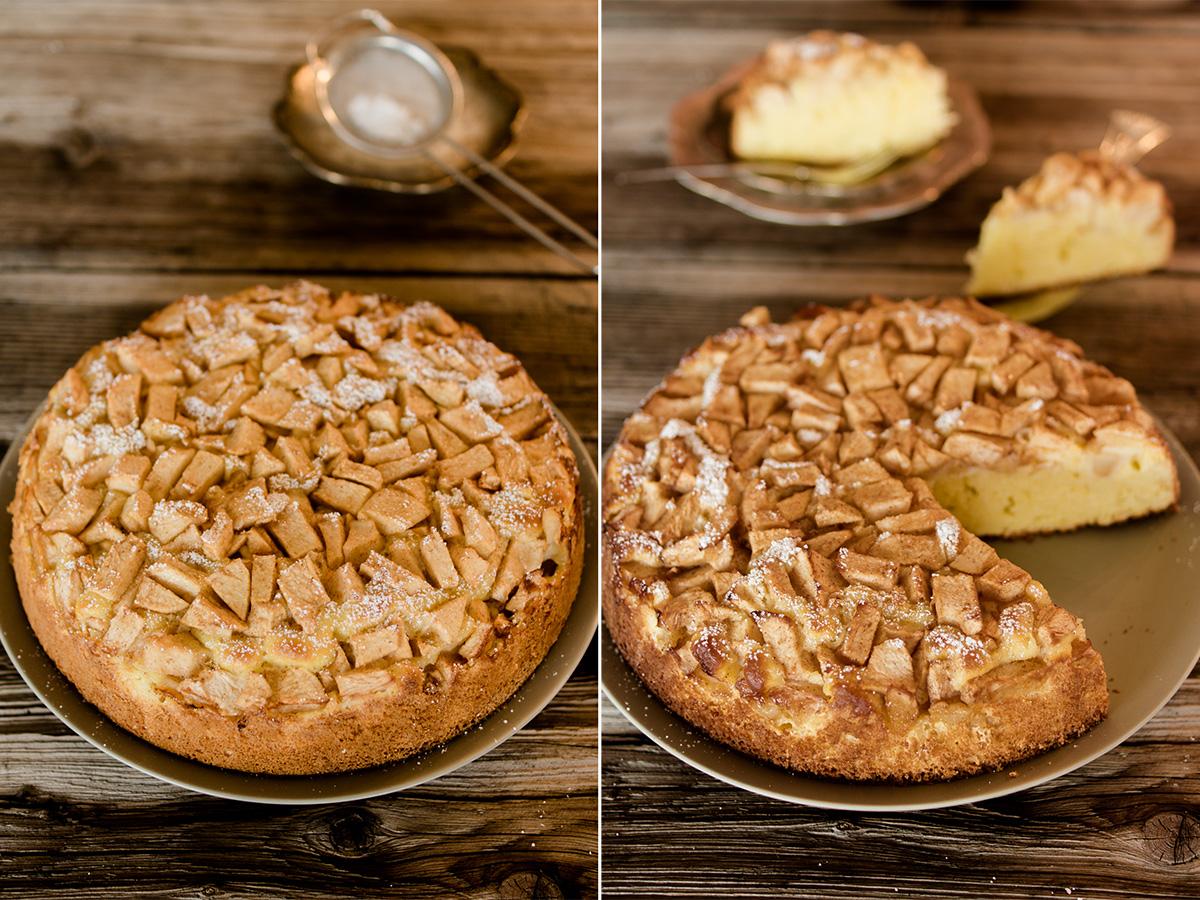 Klassischer Apfelkuchen mit Zimt